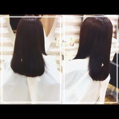 社会人の味方 エレガント 髪質改善 セミロング ヘアスタイルや髪型の写真・画像