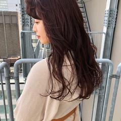 ミディアム オレンジブラウン アプリコットオレンジ オレンジベージュ ヘアスタイルや髪型の写真・画像