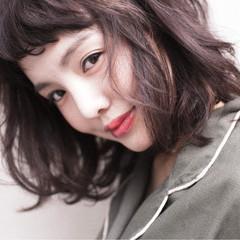 マルサラ ストリート 大人かわいい ゆるふわ ヘアスタイルや髪型の写真・画像