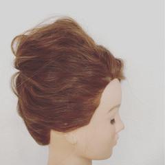 ショート セミロング ゆるふわ 簡単ヘアアレンジ ヘアスタイルや髪型の写真・画像