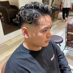 メンズカット フェードカット スキンフェード ストリート ヘアスタイルや髪型の写真・画像