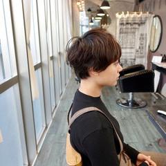ショートボブ ショート ショートパーマ モード ヘアスタイルや髪型の写真・画像