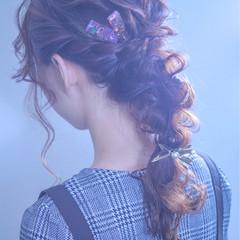 結婚式 デート 成人式 ロング ヘアスタイルや髪型の写真・画像