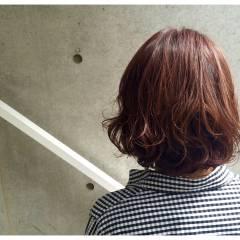 マルサラ ストリート ウェットヘア ゆるふわ ヘアスタイルや髪型の写真・画像