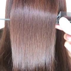 トリートメント ツヤ髪 髪質改善 ナチュラル ヘアスタイルや髪型の写真・画像