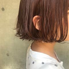 ニュアンス パーマ ミルクティー リラックス ヘアスタイルや髪型の写真・画像