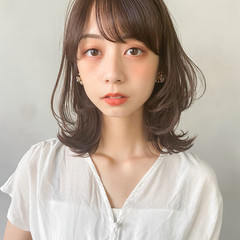 インナーカラー パーティー アンニュイほつれヘア 韓国ヘア ヘアスタイルや髪型の写真・画像
