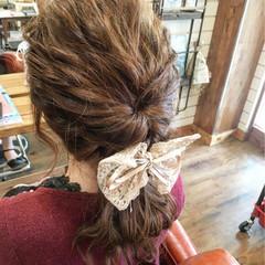 ロング ヘアアレンジ 結婚式 パーティ ヘアスタイルや髪型の写真・画像
