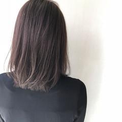 女子力 艶髪 ナチュラル ミディアム ヘアスタイルや髪型の写真・画像