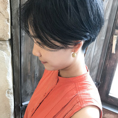 ベリーショート ショートヘア 大人ショート 大人かわいい ヘアスタイルや髪型の写真・画像