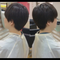 メンズショート ショートボブ ショート メンズスタイル ヘアスタイルや髪型の写真・画像