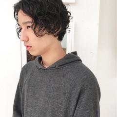 ショート ストリート 外国人風 ウェットヘア ヘアスタイルや髪型の写真・画像