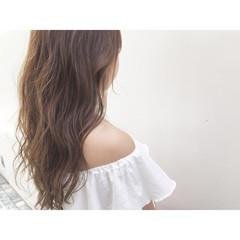 大人かわいい コンサバ フェミニン イルミナカラー ヘアスタイルや髪型の写真・画像