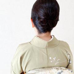 着物 和装ヘア 訪問着 卒業式 ヘアスタイルや髪型の写真・画像