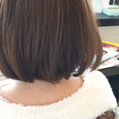ナチュラル ボブ ガーリー ピンクアッシュ ヘアスタイルや髪型の写真・画像