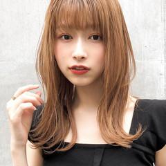 デート 大人かわいい ミディアム アンニュイほつれヘア ヘアスタイルや髪型の写真・画像