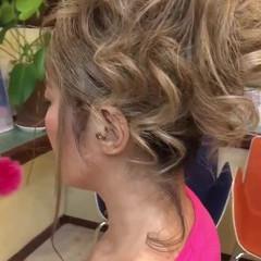 アップスタイル 上品 ロング デート ヘアスタイルや髪型の写真・画像