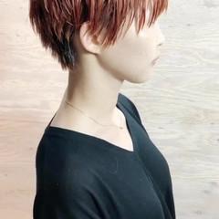 ブリーチカラー ショートヘア ベリーショート ショート ヘアスタイルや髪型の写真・画像