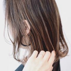 外国人風 バレイヤージュ 外国人風カラー グラデーションカラー ヘアスタイルや髪型の写真・画像