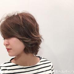 ストリート ボブ 外ハネ 大人女子 ヘアスタイルや髪型の写真・画像