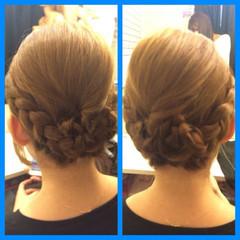 結婚式 和装 セミロング ヘアアレンジ ヘアスタイルや髪型の写真・画像