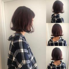 渋谷系 ボブ 大人かわいい ナチュラル ヘアスタイルや髪型の写真・画像