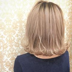 ガーリー 色気 グラデーションカラー ボブ ヘアスタイルや髪型の写真・画像