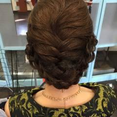 ヘアアレンジ まとめ髪 ナチュラル 大人かわいい ヘアスタイルや髪型の写真・画像