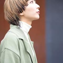 ストリート マッシュウルフ ウルフカット ショート ヘアスタイルや髪型の写真・画像