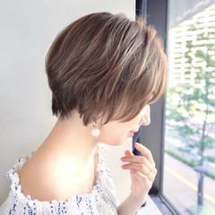 ヘアアレンジ フェミニン 簡単ヘアアレンジ ショート ヘアスタイルや髪型の写真・画像