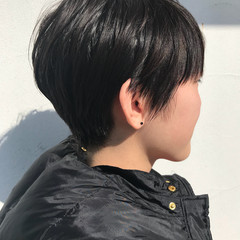 マッシュ マッシュショート ストリート ショートマッシュ ヘアスタイルや髪型の写真・画像