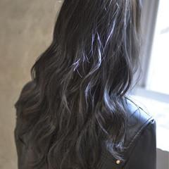 暗髪 外国人風 ロング 大人かわいい ヘアスタイルや髪型の写真・画像