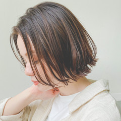 ミニボブ ボブ ボブヘアー デート ヘアスタイルや髪型の写真・画像