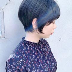 ナチュラル ショートヘア ショートボブ ショート ヘアスタイルや髪型の写真・画像