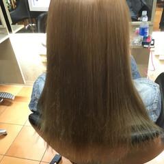 ロング 上品 ハイトーン エレガント ヘアスタイルや髪型の写真・画像