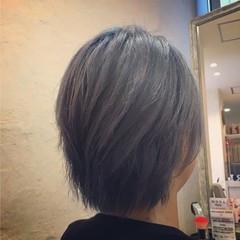 ハイライト 外国人風 グラデーションカラー 渋谷系 ヘアスタイルや髪型の写真・画像