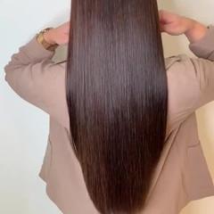 髪質改善 最新トリートメント ナチュラル ロング ヘアスタイルや髪型の写真・画像