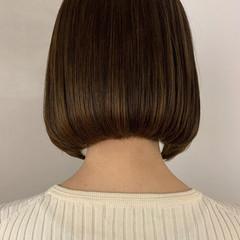 切りっぱなし モテボブ ボブ 切りっぱなしボブ ヘアスタイルや髪型の写真・画像