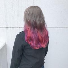 ダブルカラー 外国人風カラー ハイトーン フェミニン ヘアスタイルや髪型の写真・画像