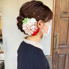 ロング 結婚式ヘアアレンジ 成人式ヘアメイク着付け 成人式ヘア ヘアスタイルや髪型の写真・画像
