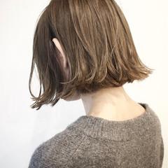 ストリート ボブ 切りっぱなし ショートボブ ヘアスタイルや髪型の写真・画像