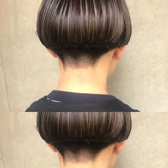 リラックス モード 色気 ハイライト ヘアスタイルや髪型の写真・画像