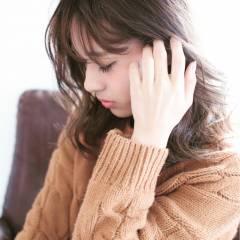 大人かわいい 秋 外国人風 アッシュベージュ ヘアスタイルや髪型の写真・画像