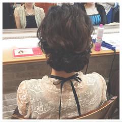 簡単ヘアアレンジ まとめ髪 ヘアアレンジ 編み込み ヘアスタイルや髪型の写真・画像