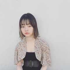 外国人風 ストレート アンニュイ 秋 ヘアスタイルや髪型の写真・画像