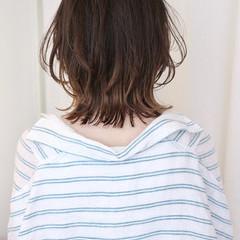 グラデーションカラー ストリート ウルフカット ボブ ヘアスタイルや髪型の写真・画像