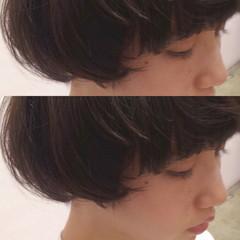 マッシュ ショート ショートボブ マッシュショート ヘアスタイルや髪型の写真・画像