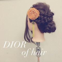 ヘアアレンジ 愛され フェミニン 成人式 ヘアスタイルや髪型の写真・画像