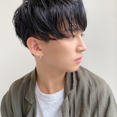 メンズショート メンズヘア ナチュラル 簡単スタイリング ヘアスタイルや髪型の写真・画像
