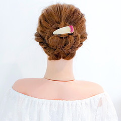 ヘアアレンジ 大人かわいい ロング 簡単ヘアアレンジ ヘアスタイルや髪型の写真・画像